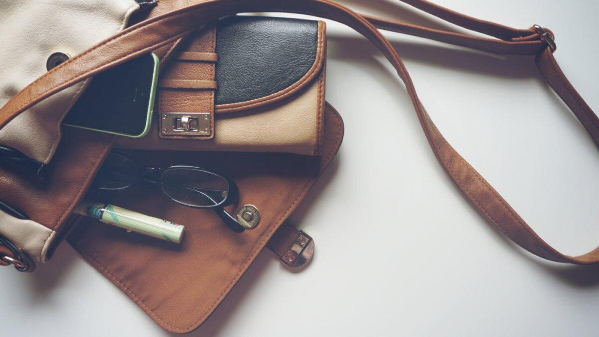 женский кошелёк сумка
