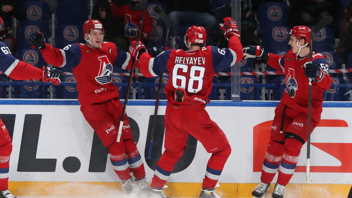 локомотив Ярославль победа кхл хоккей