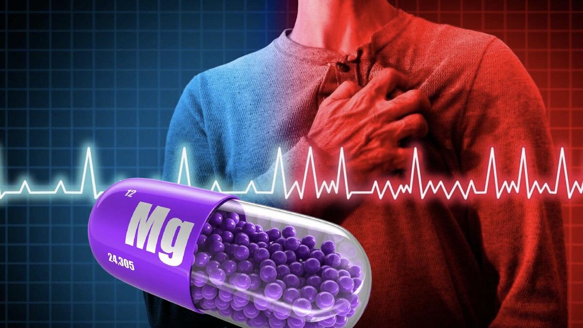 магний и сердцебиение