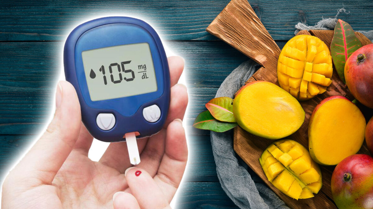манго сахар в крови диабет глюкометр