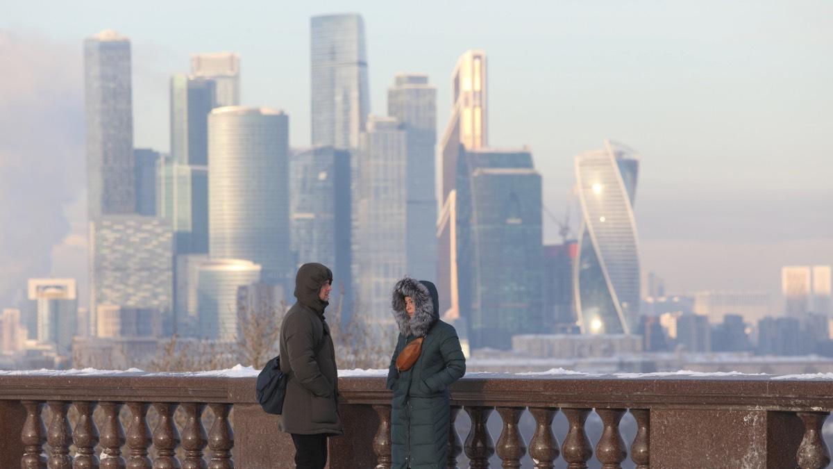морозы в Москве январь 2021