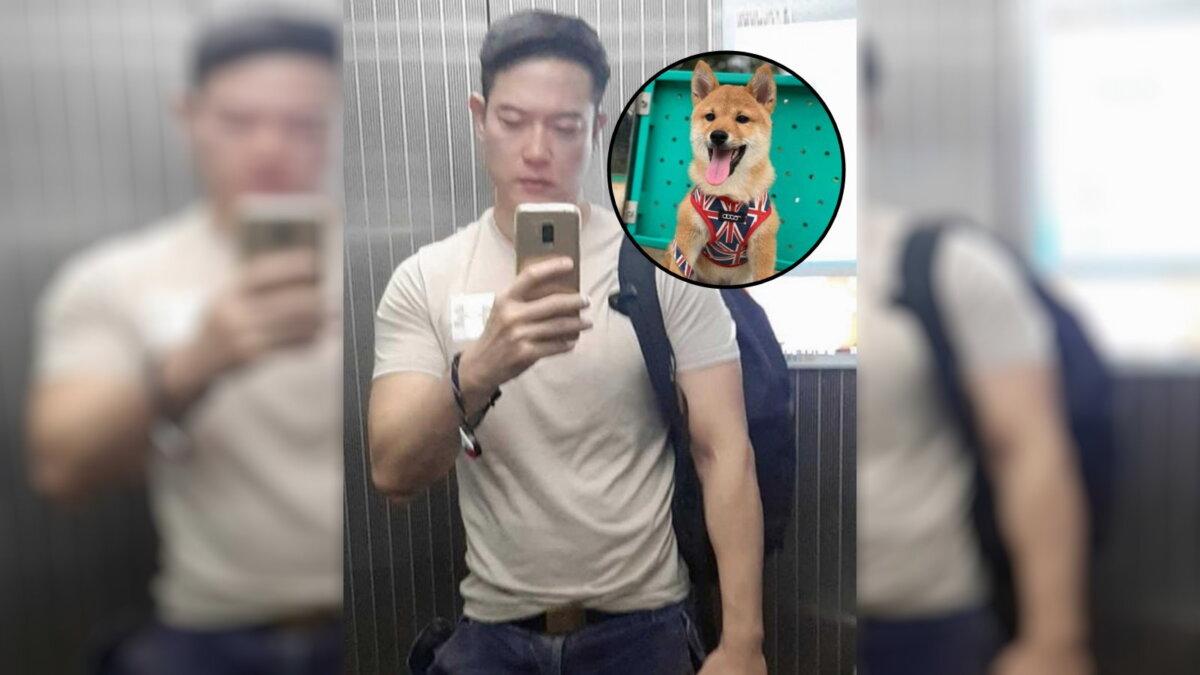 мужчина показал как собака повлияла на его внешность