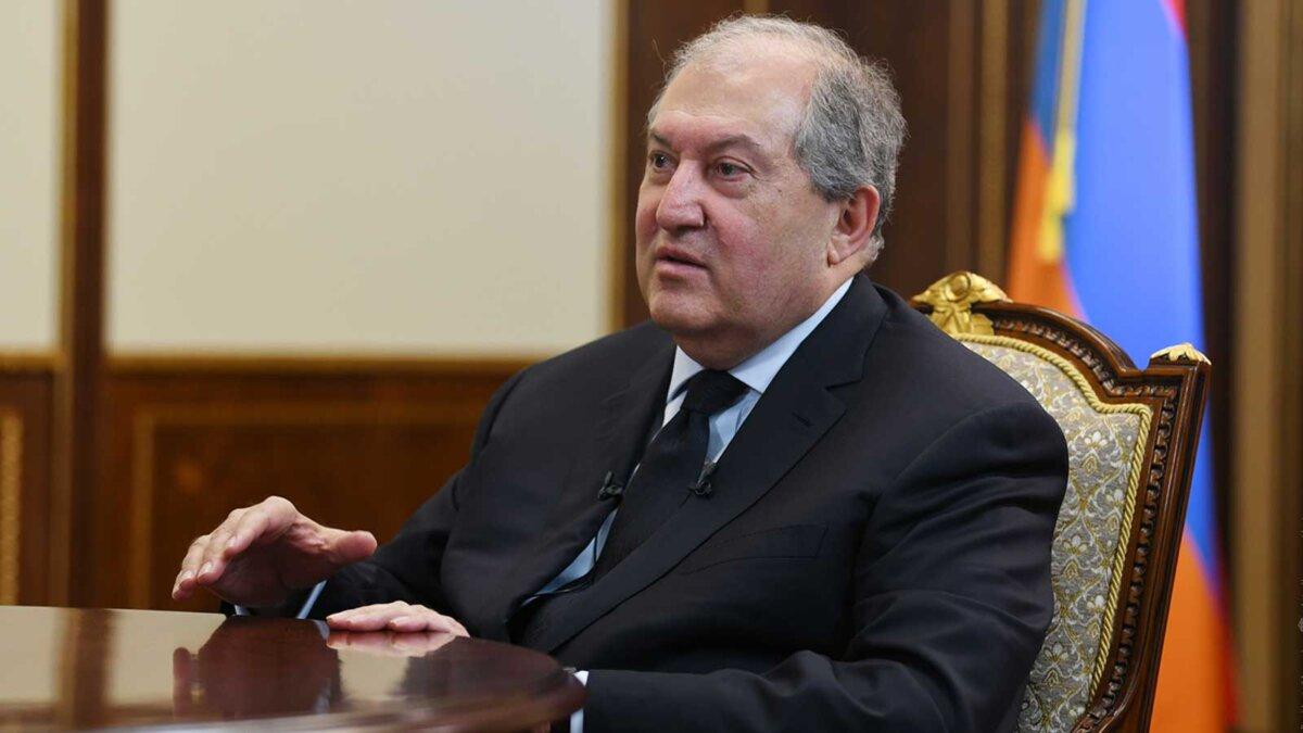президент Армении Армен Саркисян