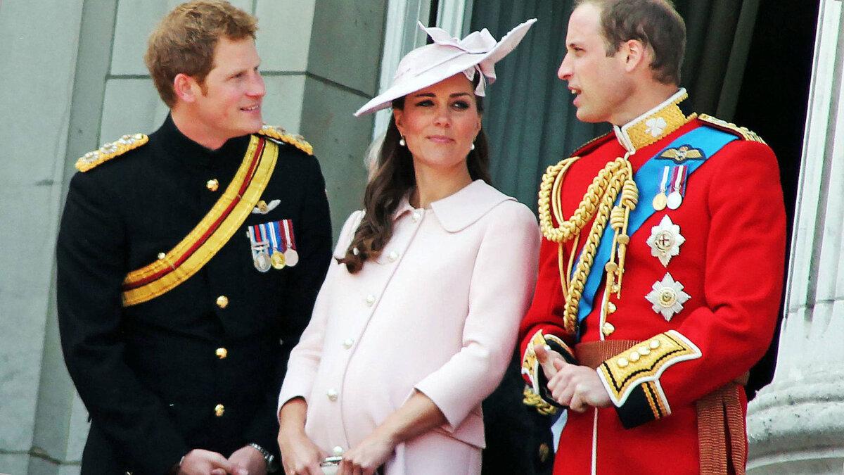 принц Вильям Гарри и Кейт миддлтон