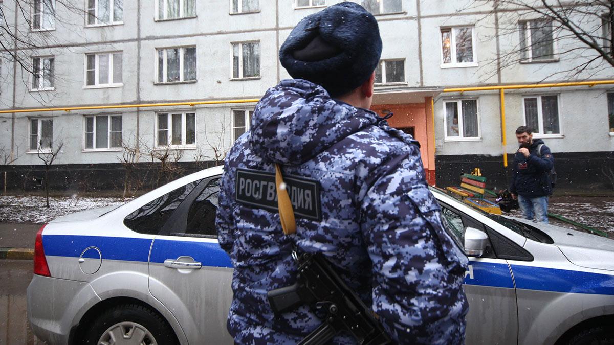 росгвардия рейд квартира полиция многоквартирный жилой дом