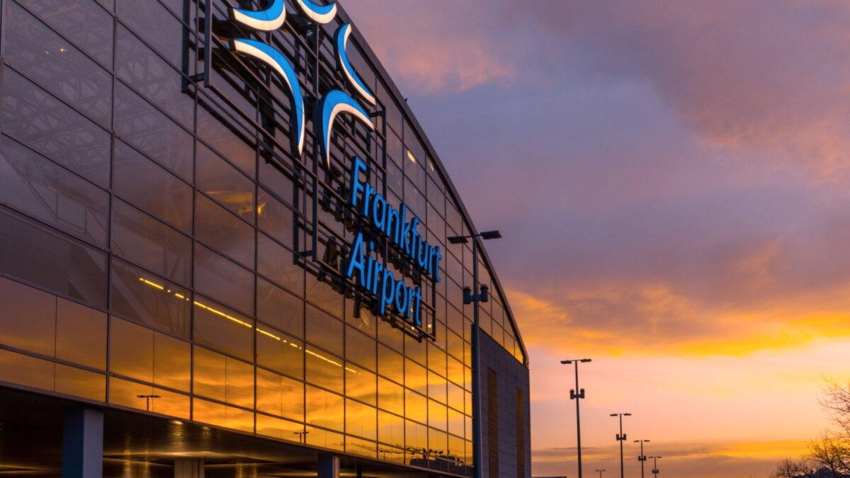 Аэропорт Франкфурта-на-Майне Германия