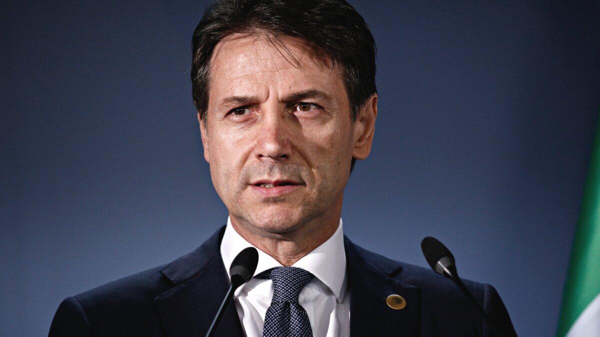 Джузеппе Конте - Giuseppe Conte один