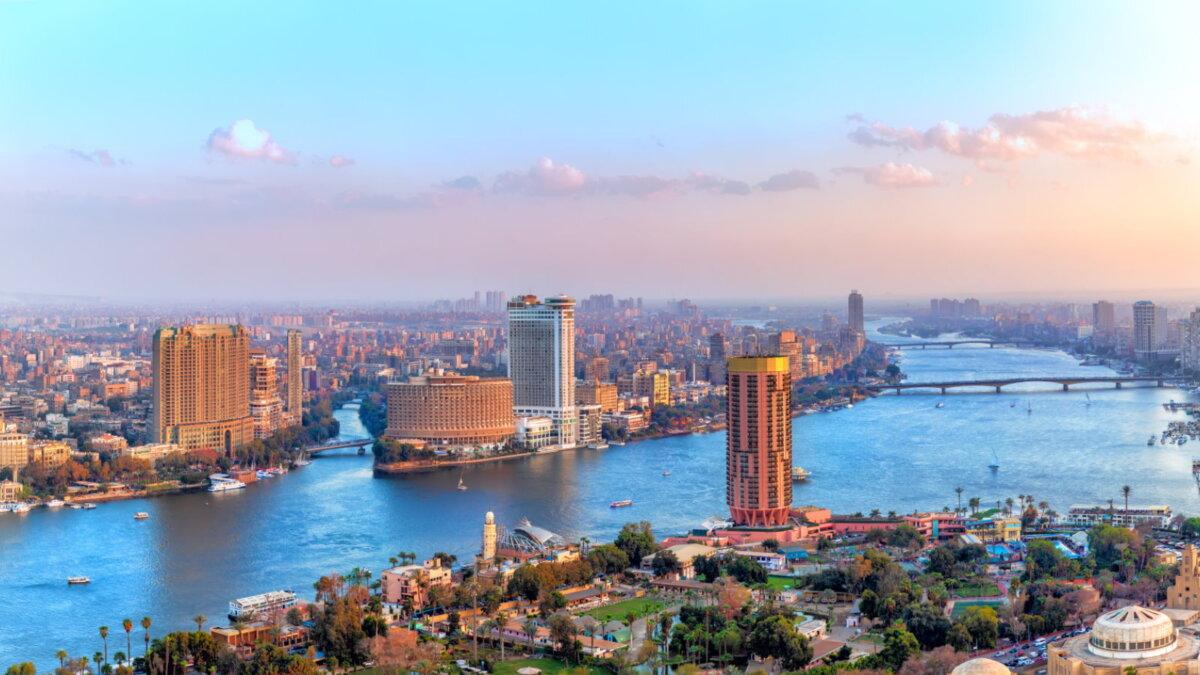 Каир Египет река Нил туризм