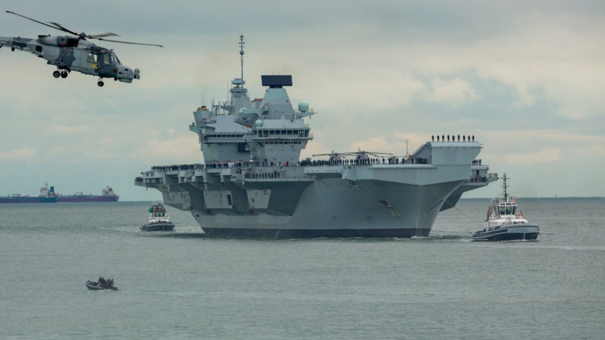 Авианосец Принц Уэльский - HMS Prince of Wales