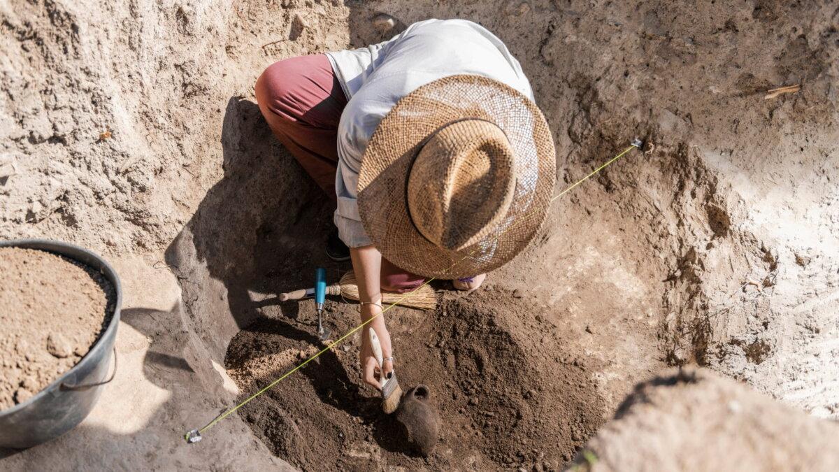 Археология раскопки три