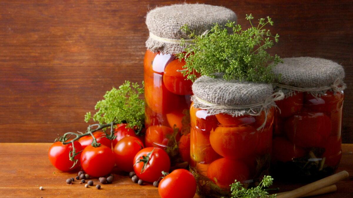Консервированные помидоры томаты соленье засолка два