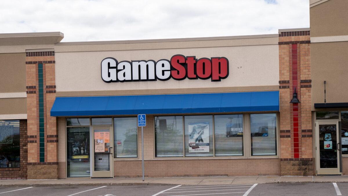 GameStop логотип магазин по продаже видеоигр два