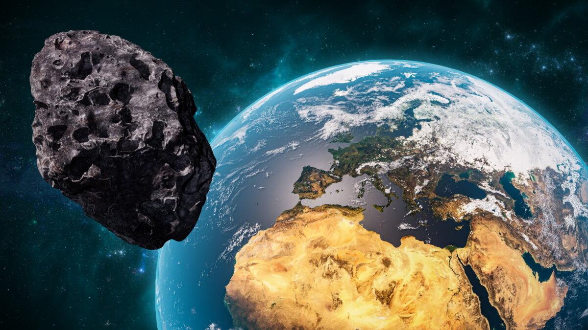 Планета Земля метеорит астероид шесть