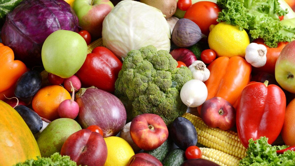 фрукты овощи один