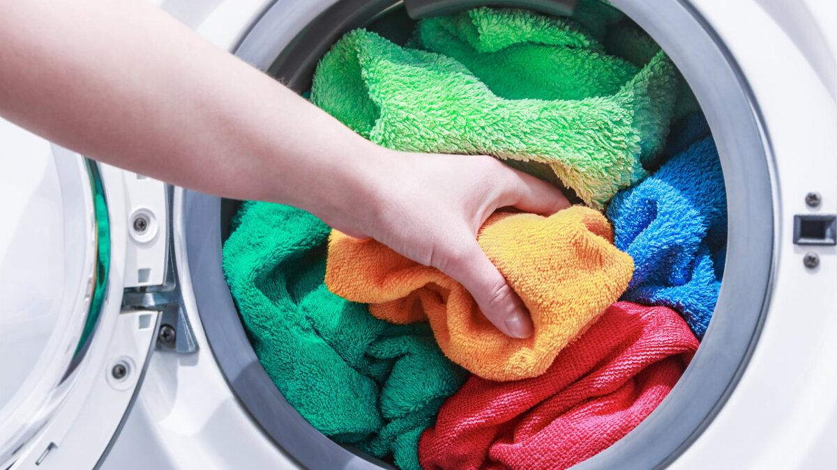 Стиральная машина полотенца стирка