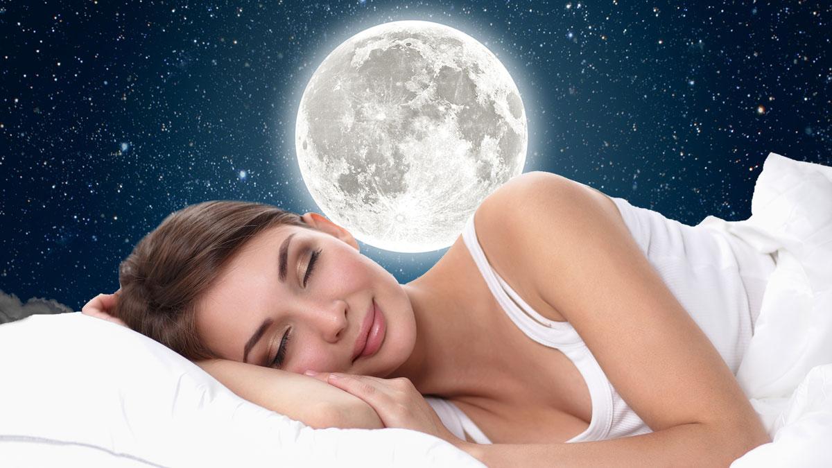 здоровый сон луна лунные циклы полнолуние фазы