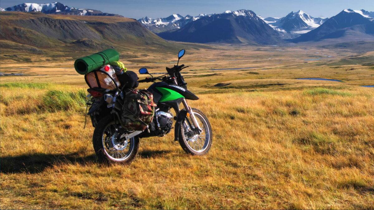 Туризм путешествие на мотоцикле Алтай Сибирь Россия