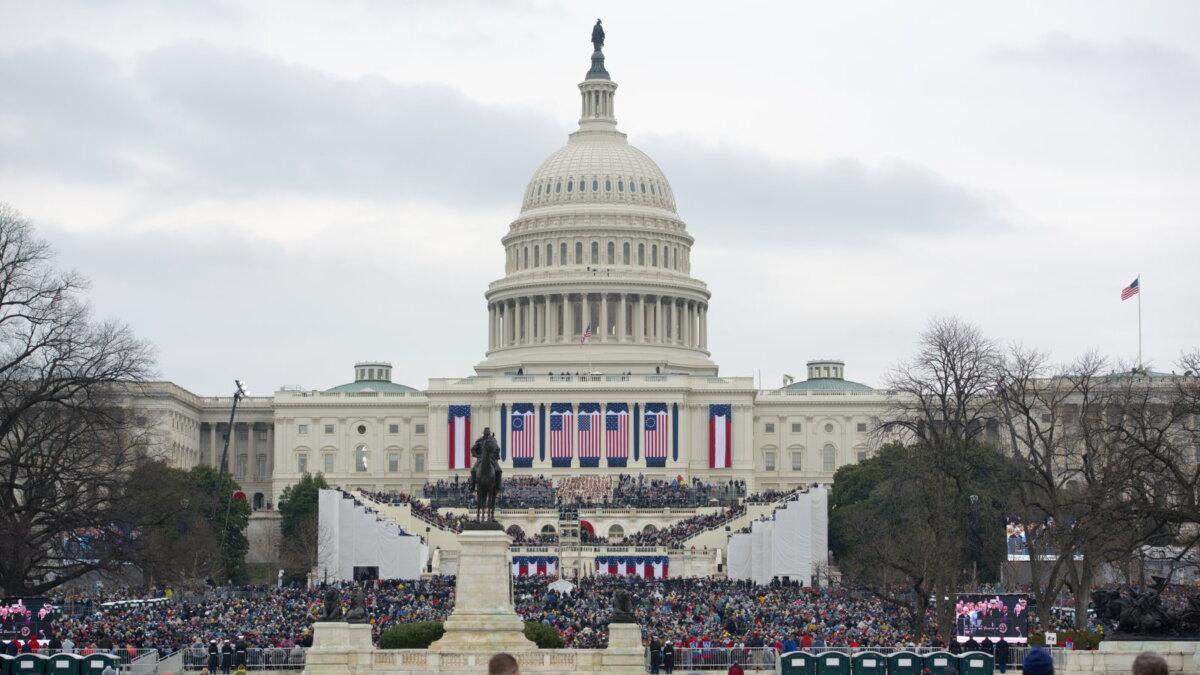 инаугурация президента США Капитолий сенат конгресс