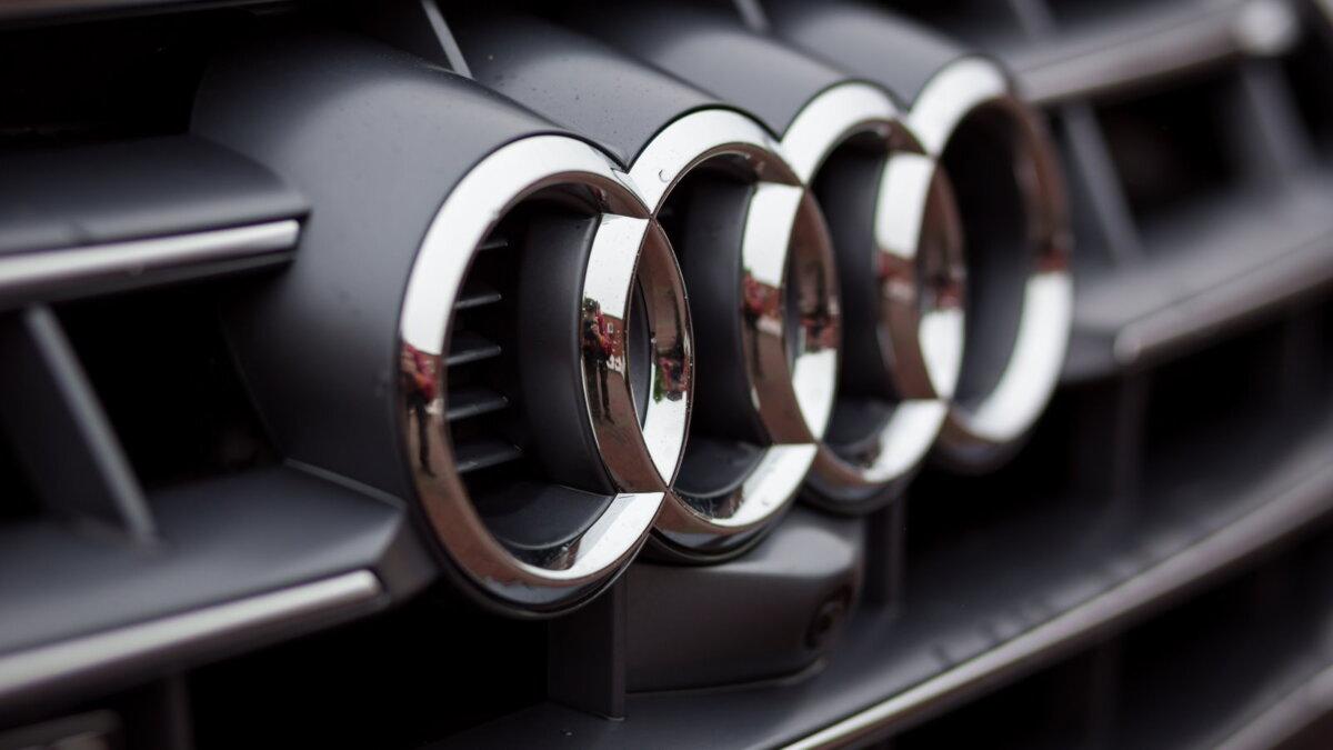 Audi логотип один