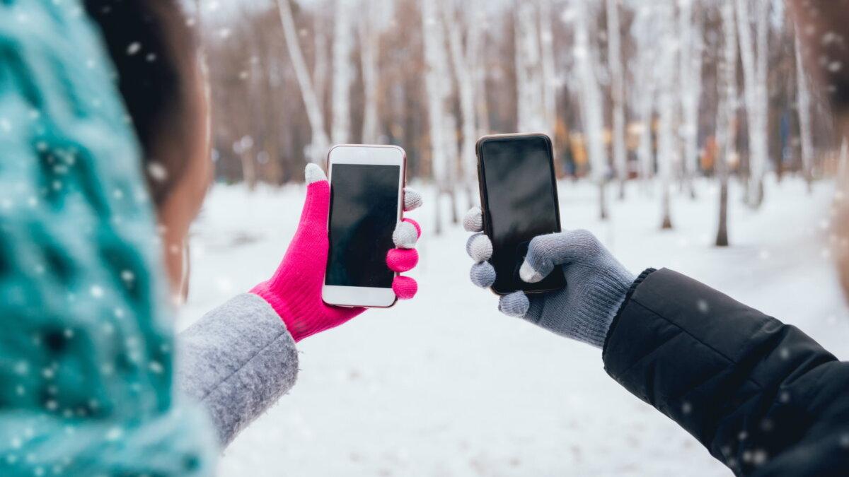 зима телефон