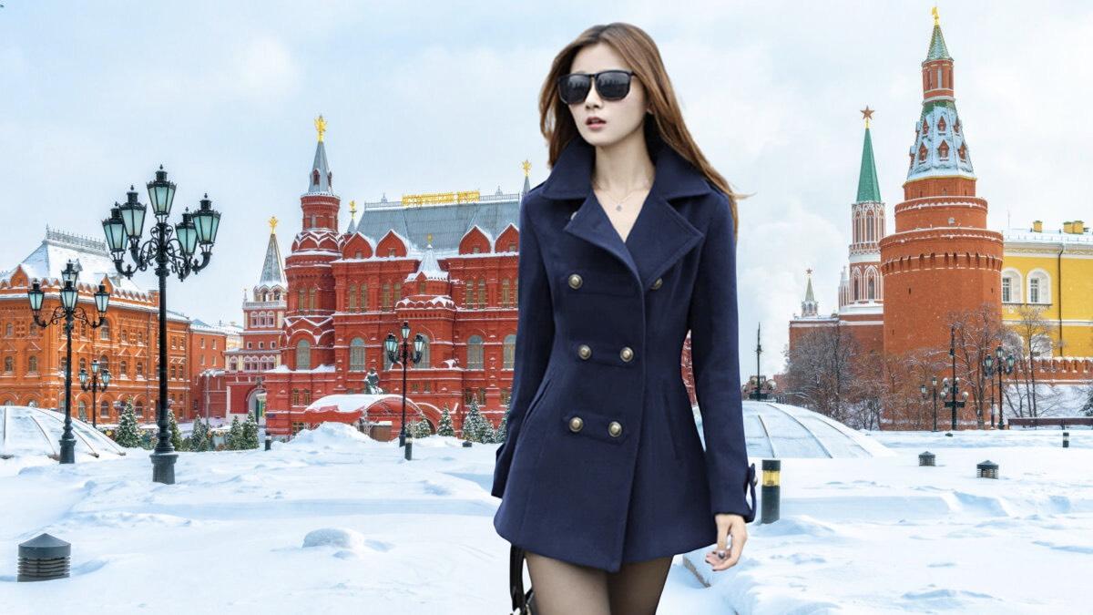 весенняя одежда зимой в москве