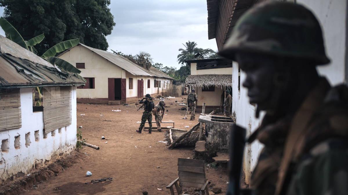 Солдаты военные ЦАР Центральноафриканская Республика