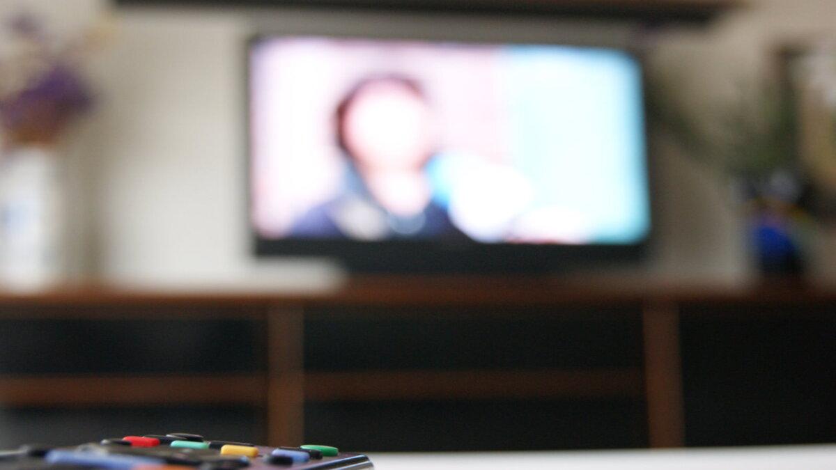 телевизор телевидение телеканал один