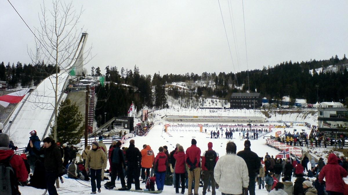 лыжный стадион Хольменколлен Норвегия