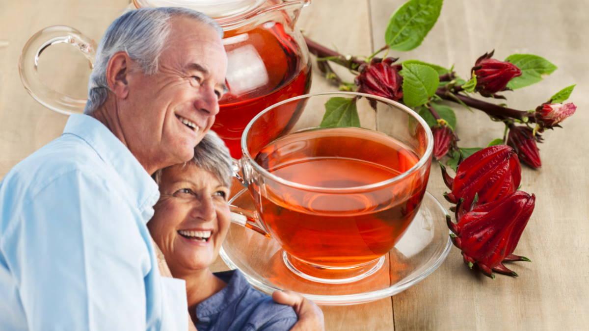 Чайный напиток Розелла