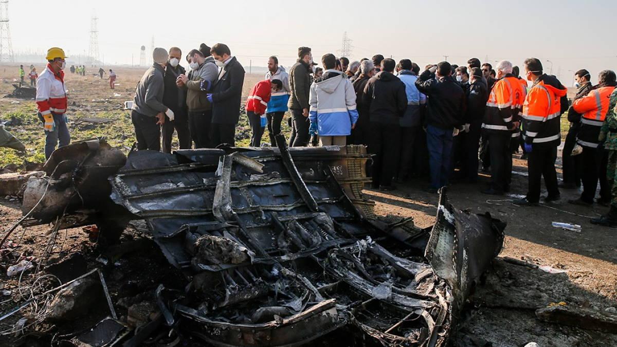 Авиакатастрофа Рейс PS752 Boeing 737-800 Тегеран 8 января 2020