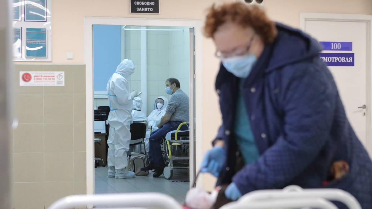 Россия коронавирус больница осмотр