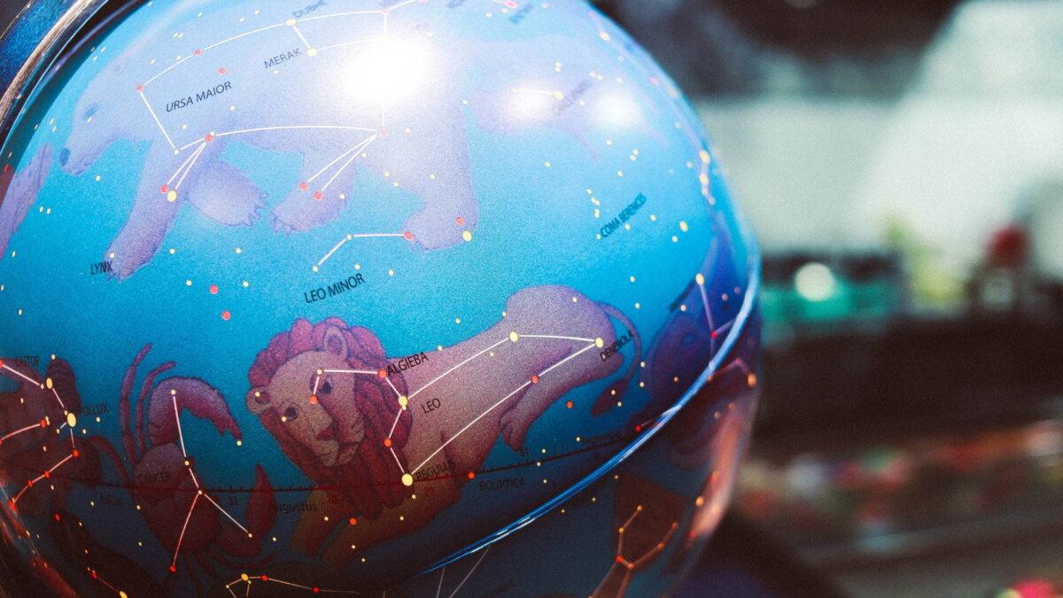 глобус созвездия гороскоп астрология астрономия