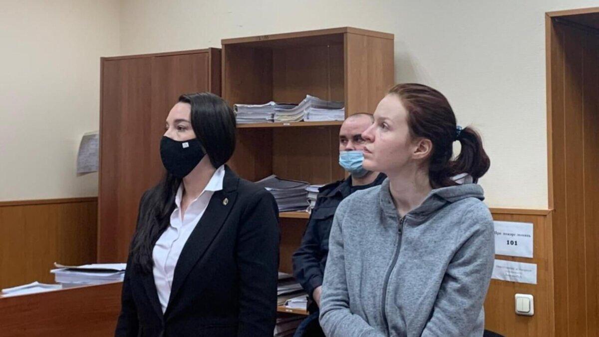 Кира Ярмыш в Басманном суде