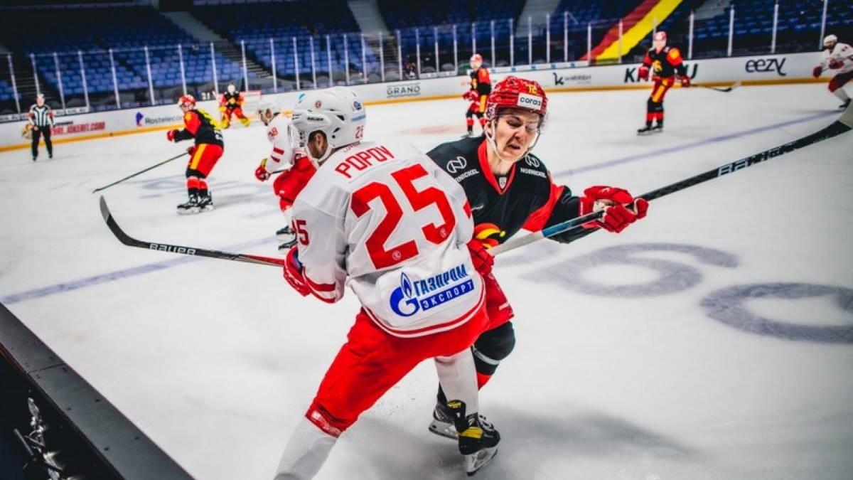 Витязь - Йокерит хоккей