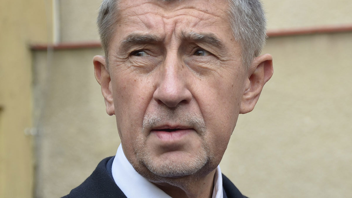 Премьер-министр Чехии Андрей Бабиш крупный план