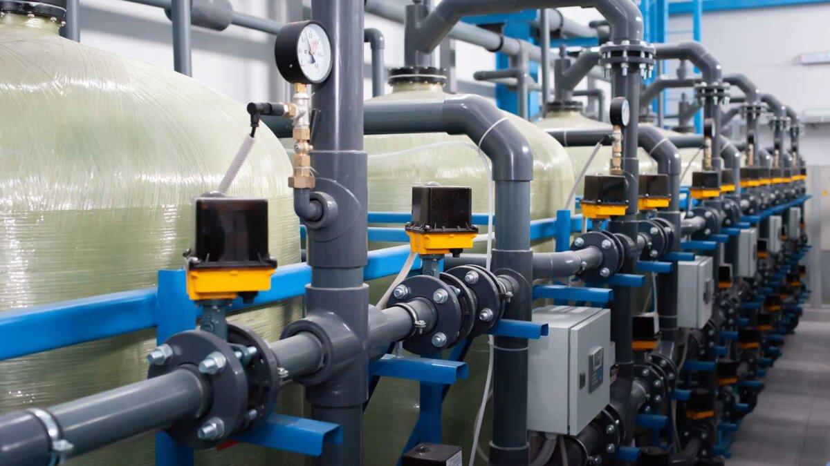 Автоматизация системы промышленной очистки воды