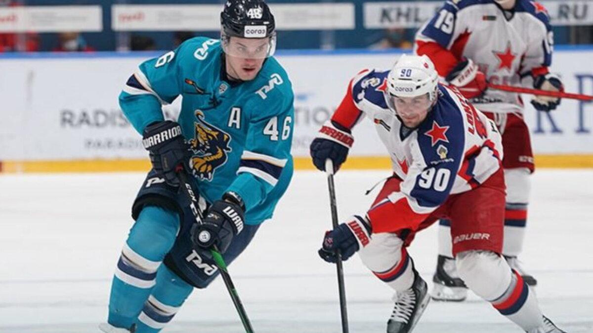 ЦСКА - Сочи хоккей
