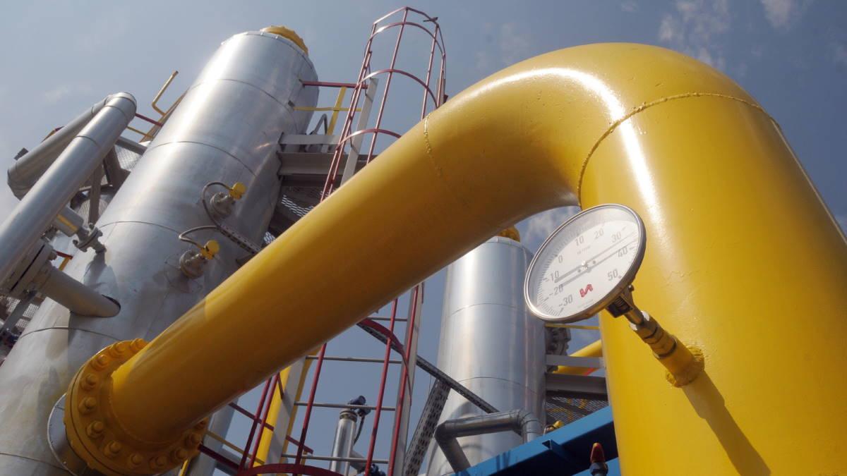 Газопровод транзит газа три