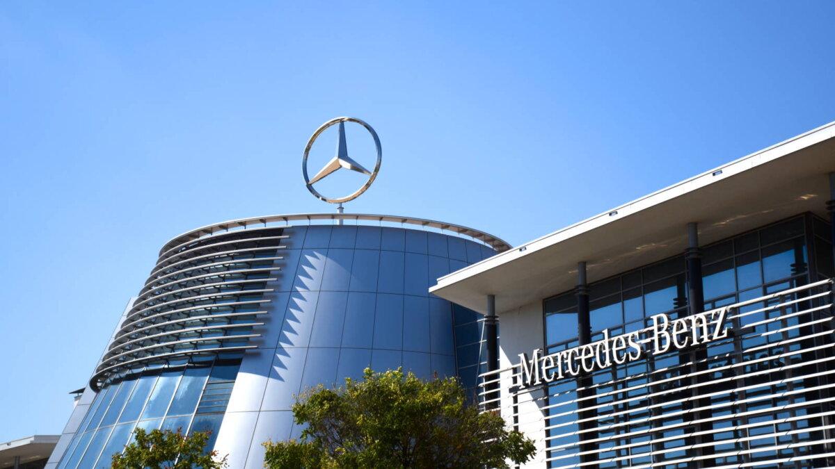Mercedes-Benz логотип два