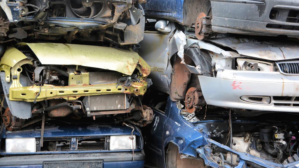 Утилизация автомобилей автомобильная свалка один