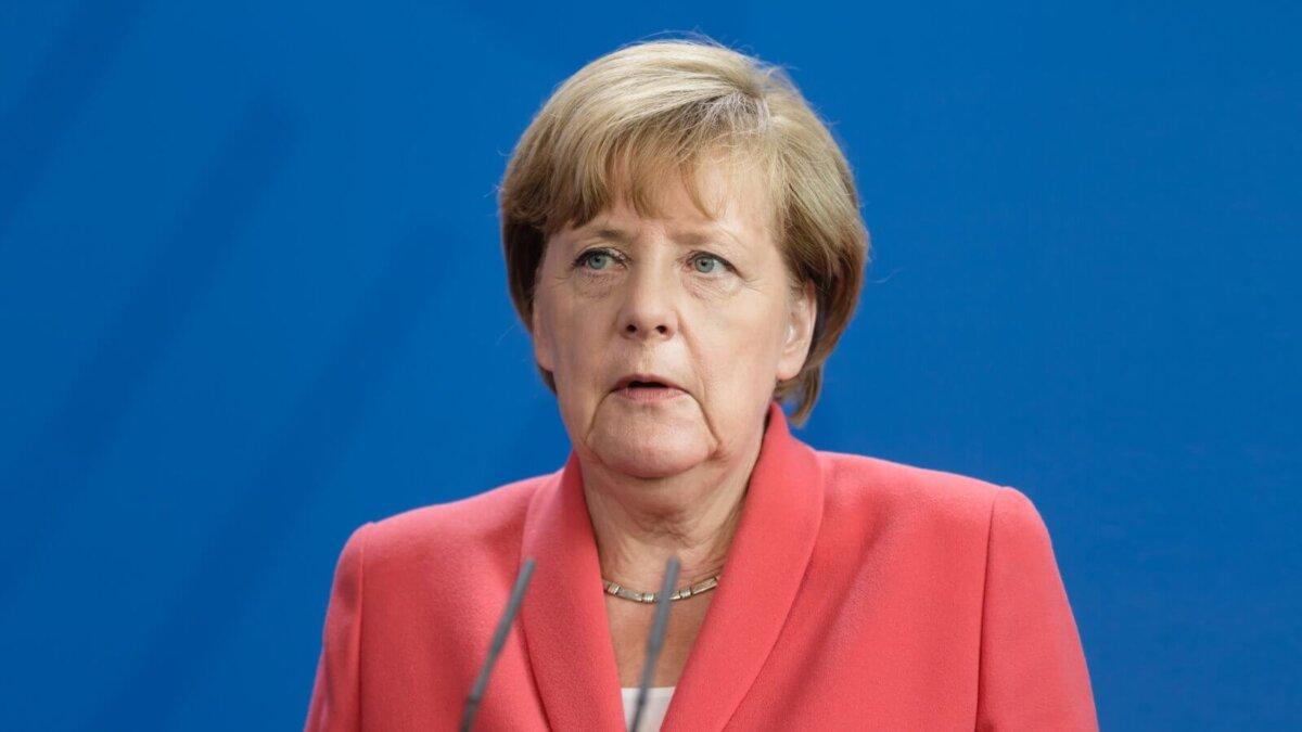 Ангела Меркель один