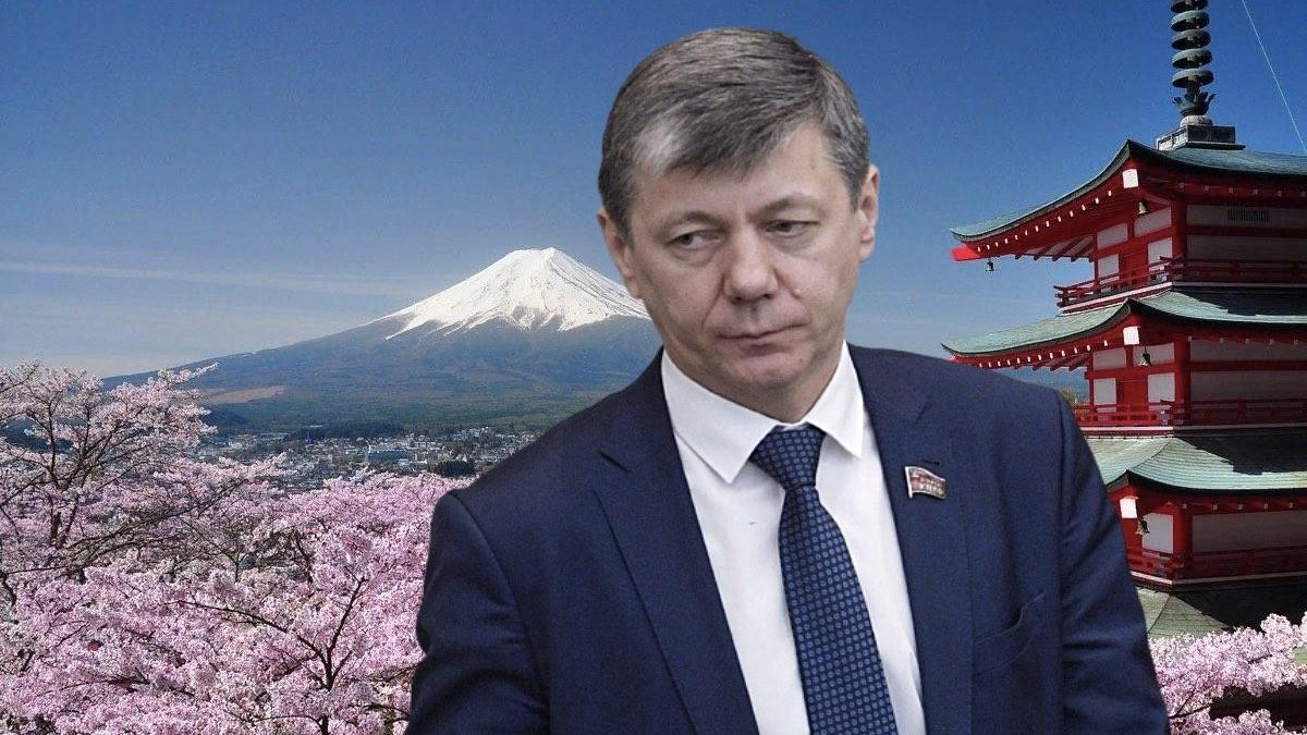Дмитрий Новиков и Япония