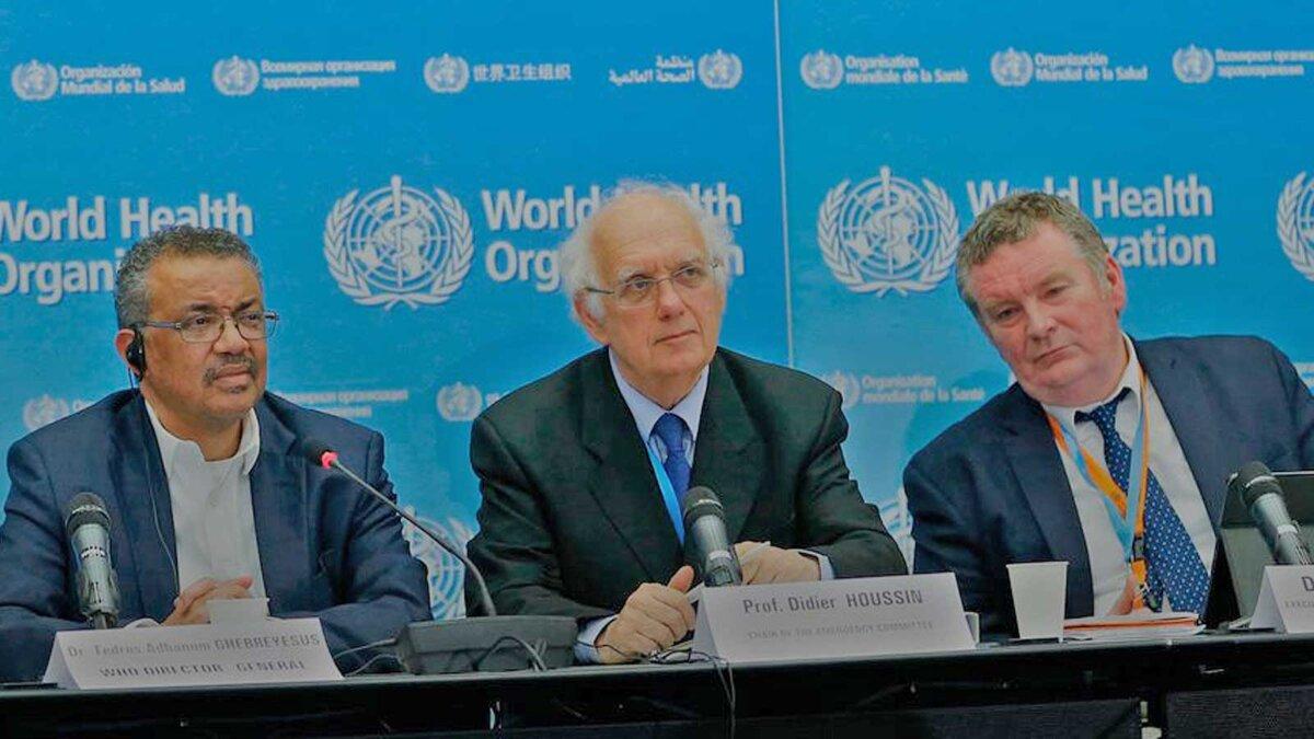 Экспертная группа Всемирной организации здравоохранения