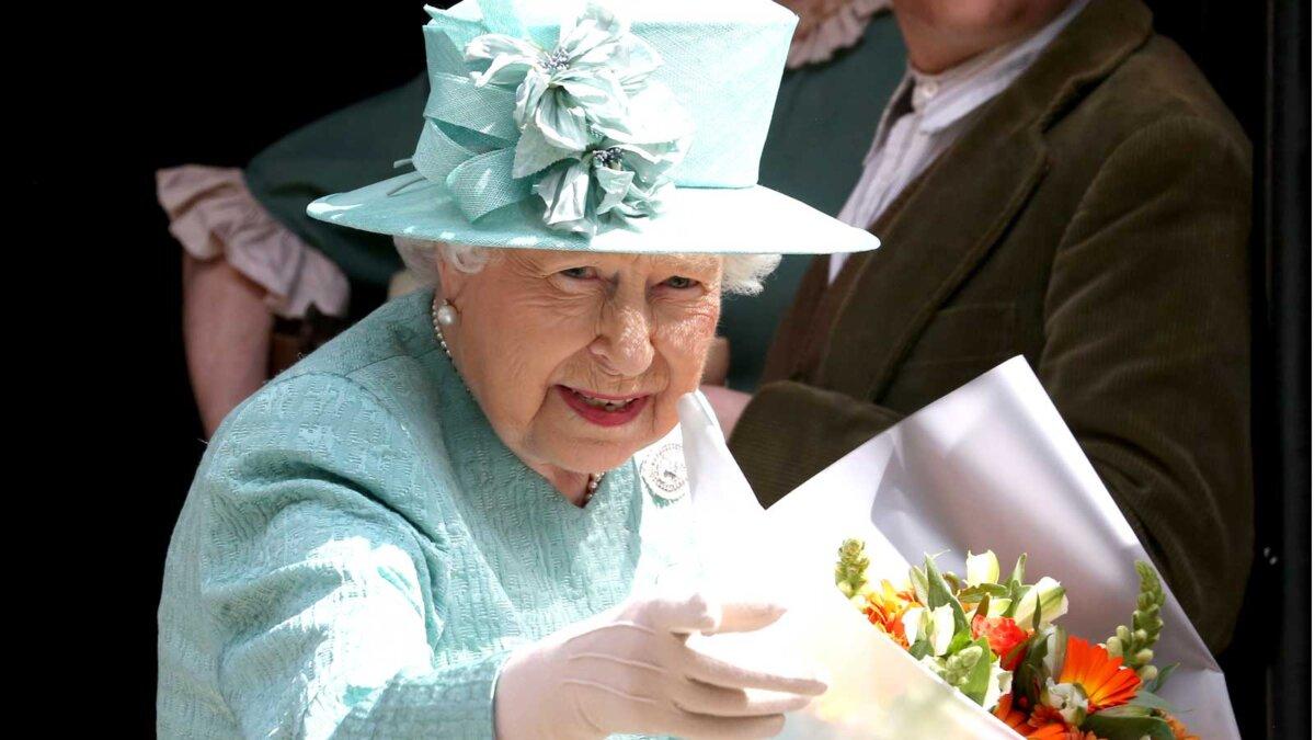 Elizabeth II королева Елизавета II