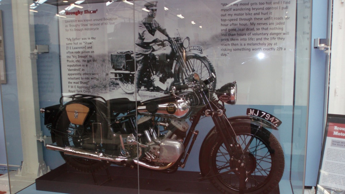 Brough Superior SS100 Лоуренса Аравийского мотоцикл музей