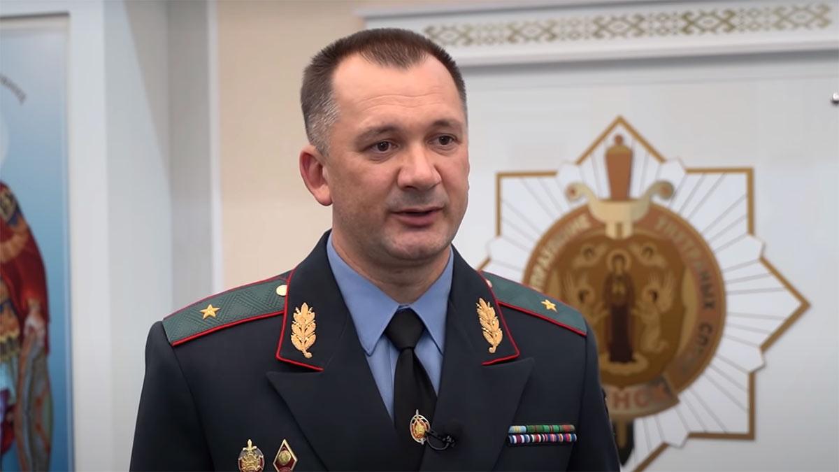 Иван Кубраков Министр внутренних дел Республики Беларусь