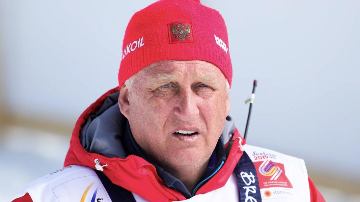 Тренер сборной России по лыжным гонкам Юрий Бородавко
