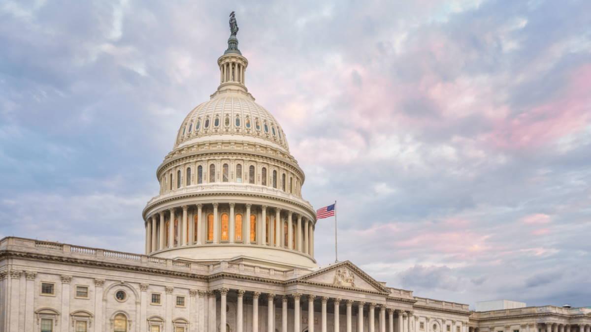Капитолий сенат конгресс США здание пять