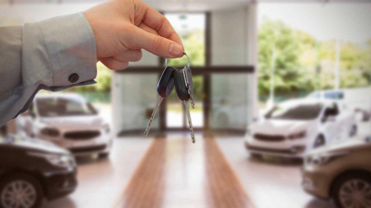 Ключи продавец автомобили