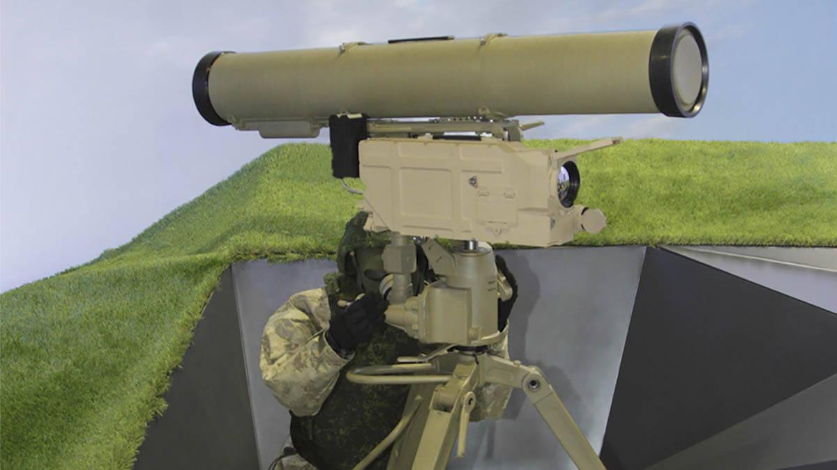 Противотанковый ракетный комплекс Корнет-Э